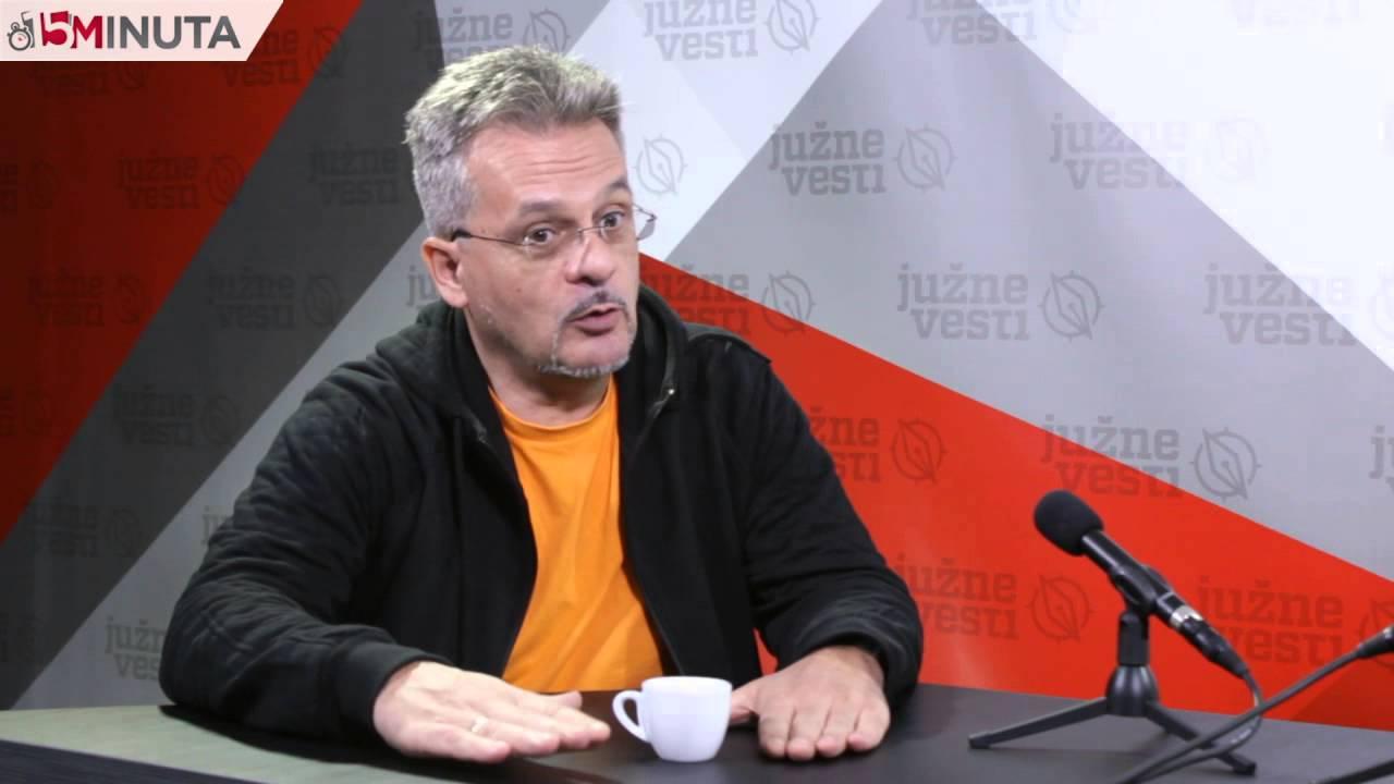 Gostovanje Danijela Dašića u emisiji 15 minuta Južnih vesti