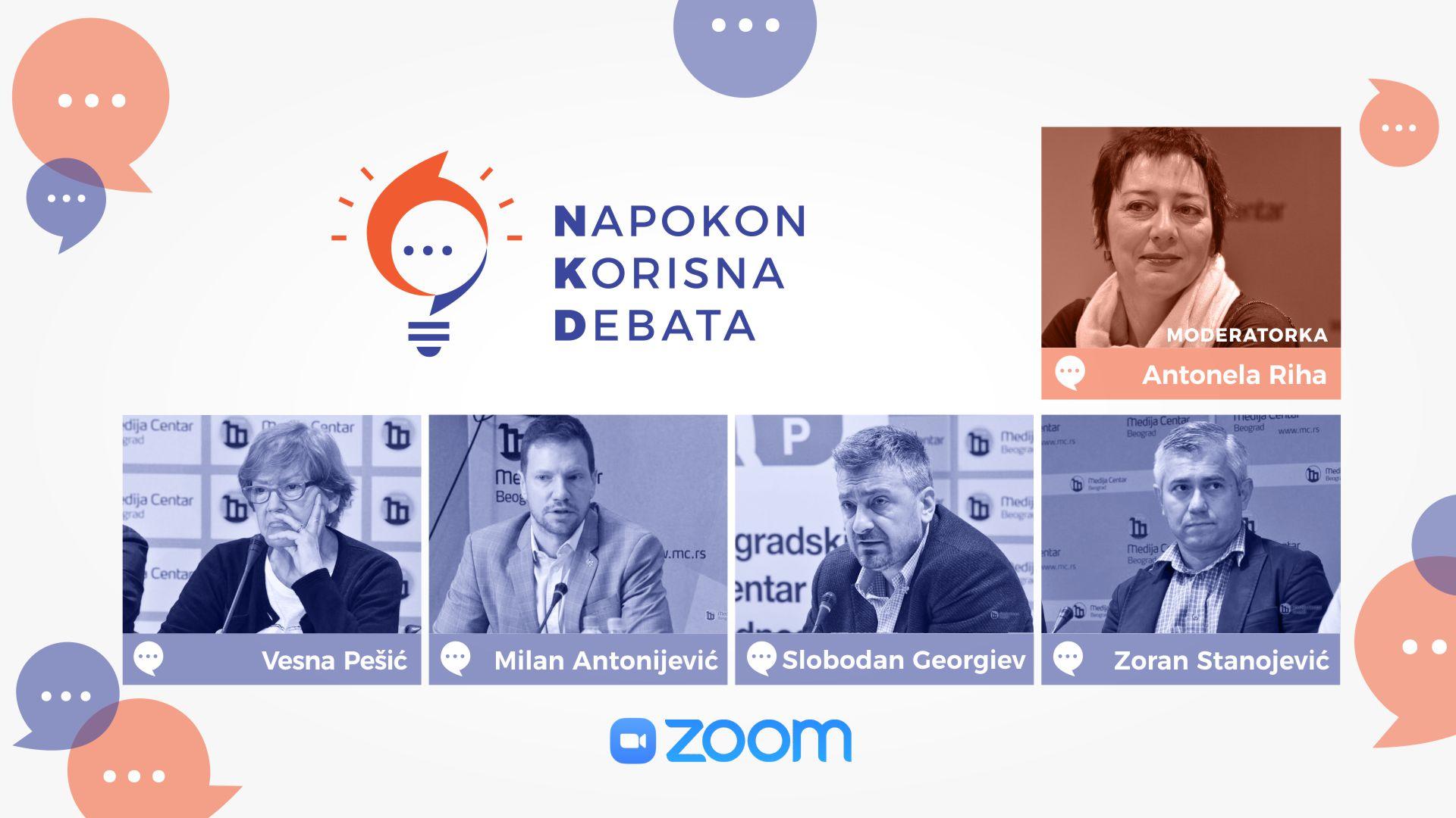 Napokon Korisna Debata: Demokratija i društvene mreže